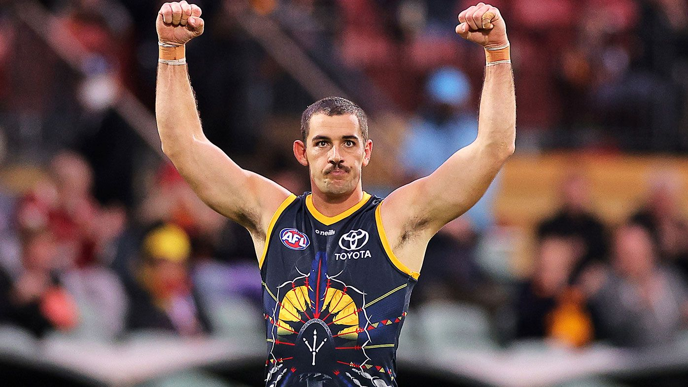 'I'm excited by the steps we've taken': Taylor Walker re-signs with Adelaide Crows