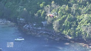 A rescue operation is underway after a suspected boat accident in Middle Harbour.