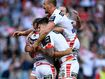 Dragons roll on with Anzac Day thumping of Roosters