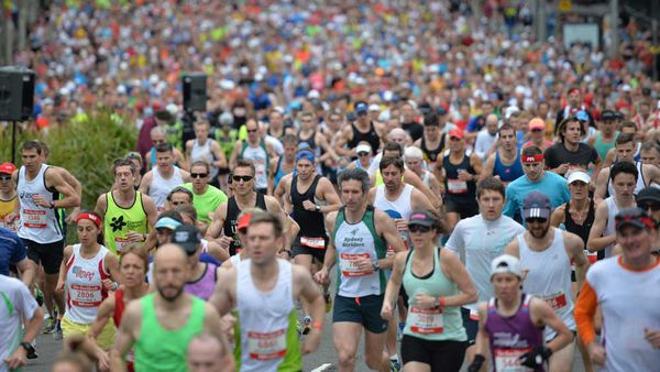 Runners participate in 2014's City2Surf road race