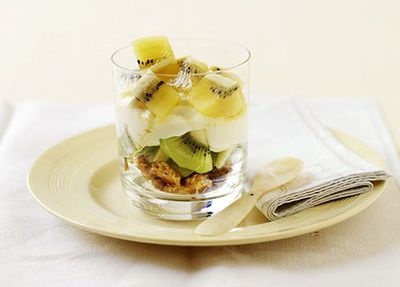 "Recipe: <a href=""http://kitchen.nine.com.au/2016/05/19/11/47/september-kiwifruit-and-yoghurt-trifle"" target=""_top"">Kiwifruit and yogurt trifle</a>"