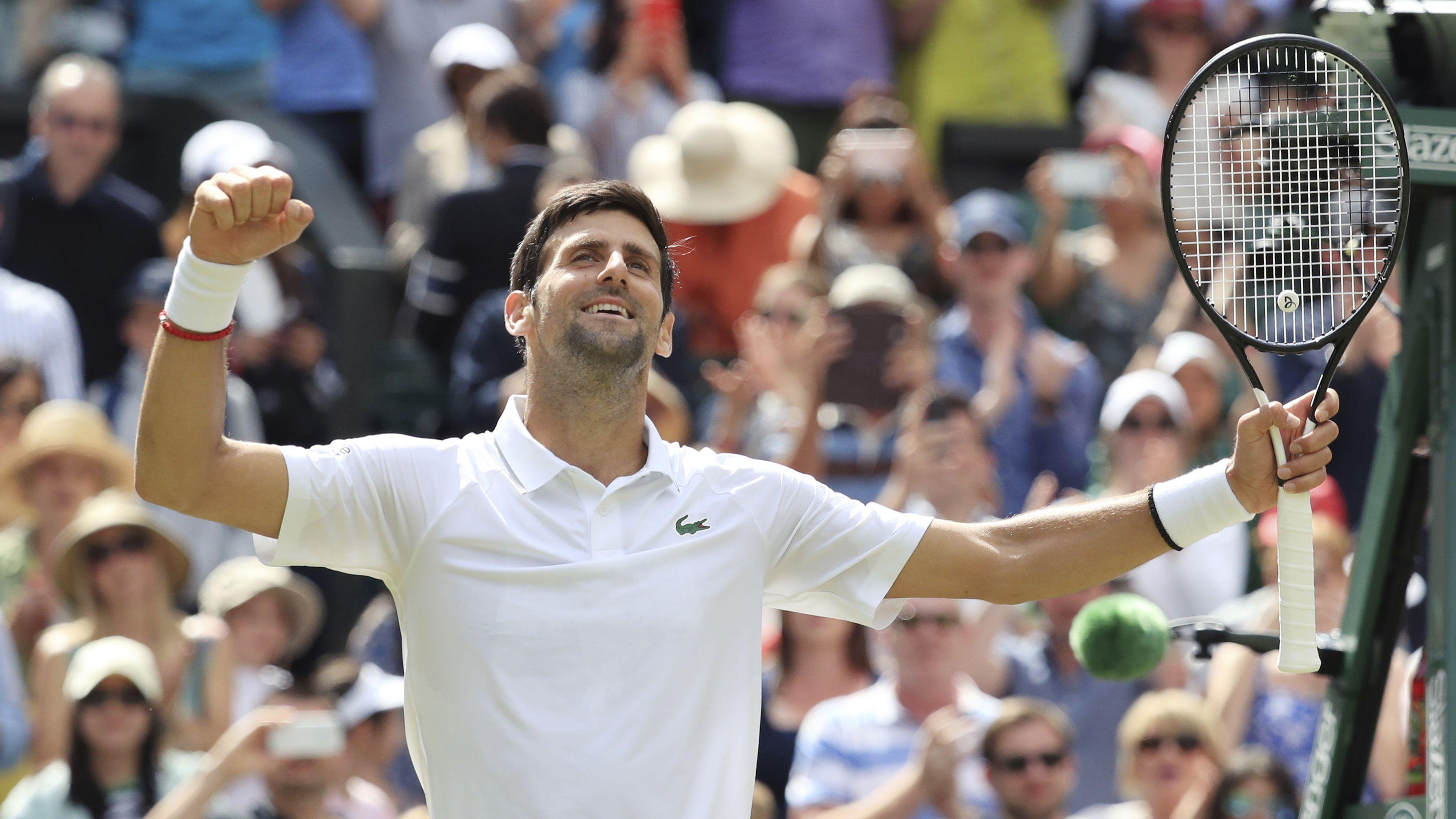 Djokovic, Federer, Nadal lead older charge at Wimbledon