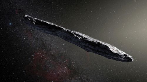 Tumbling alien asteroid had a 'violent past