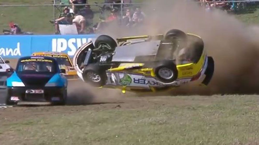 Race car crashes through fence into crowd - Nine Wide World of ...