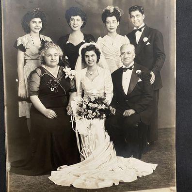 Old school wedding