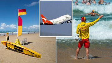 Drowning news Australia government calls airline water safety videos Surf Life Saving Australia