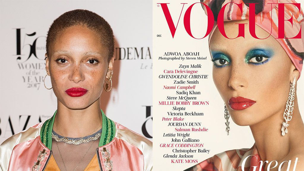 #BlackGirlMagic: Adwoa Aboah Covers Edward Enninful's First British Vogue Issue