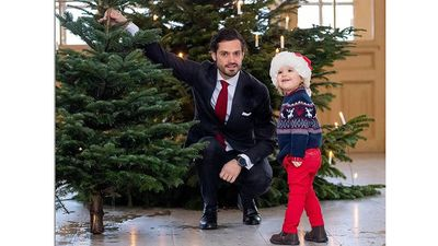 Prince Alexander is Santa's Little Helper