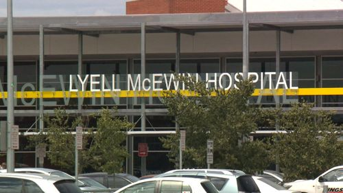 A woman became infected after being treated at the Lyell McEwin Hospital in Adelaide's northern suburbs.