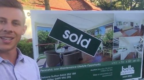Mr Hopkins' latest property in Brisbane. (Supplied)