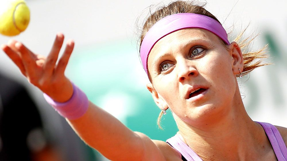 Lucie Safarova. (AAP-file)