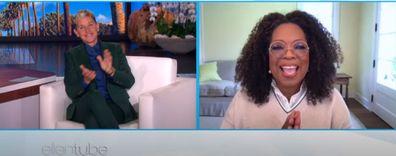 Oprah Winfrey on Ellen