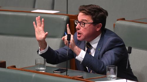 MP David Littleproud will be the new Minsiter for Agriculture and Water. (AAP)