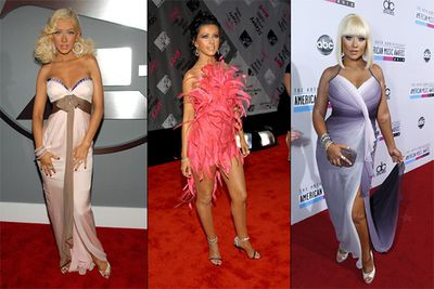 There's no denying Xtina has some stunning style moments to her name, but she's also been a fashion roadkill victim more times than we can count. Who can forget the unspeakable flamingo getup from the 2003 MTV Music Awards…