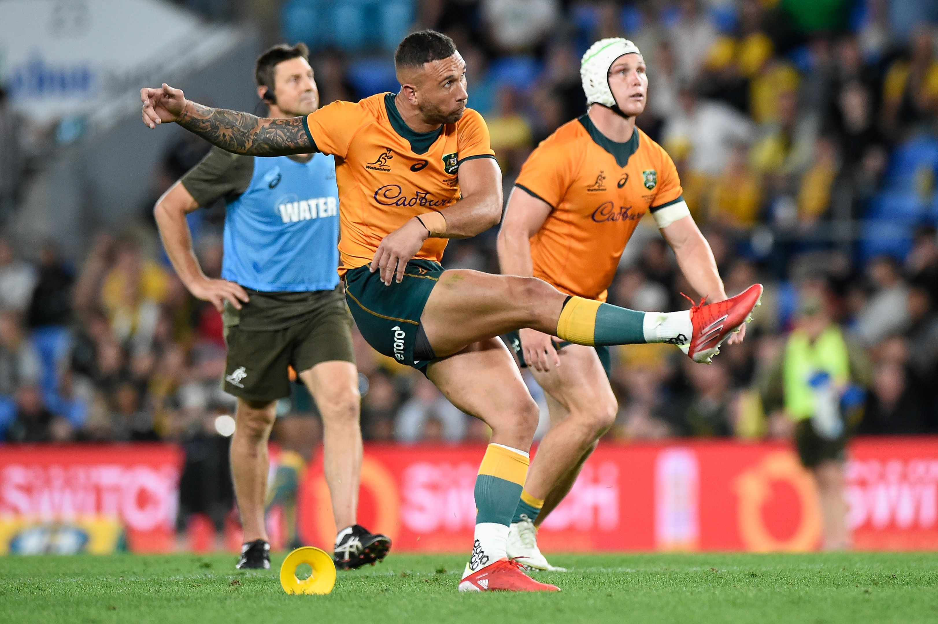 Rugby Championship: No room for James O'Connor in Wallabies team to play Springboks
