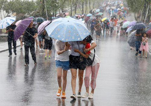 Typhoon forces evacuations, flight cancellations in eastern China