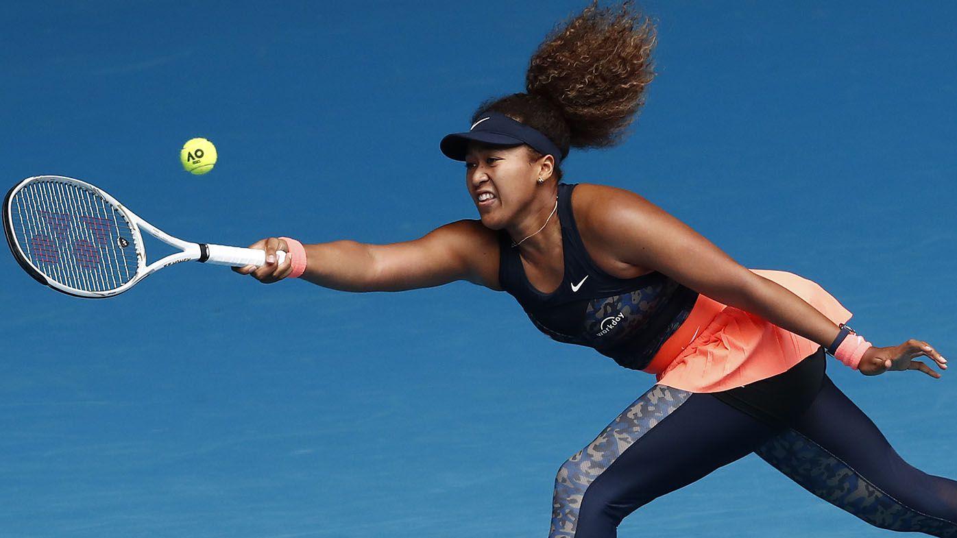 Naomi Osaka saves match points to beat Garbine Muguruza in Australian Open thriller