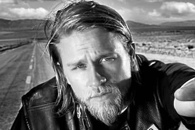 """Jackson """"Jax"""" Teller is the vice-president of the titular motorcycle gang, sporting a festy bikie beard and multiple tattoos."""