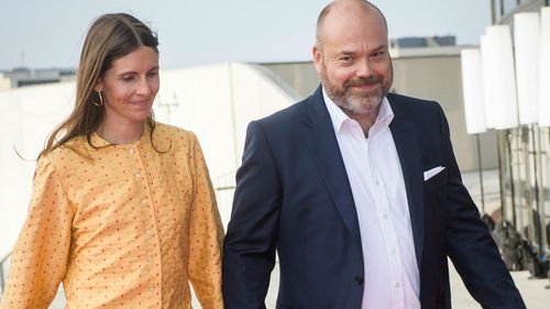 Bestseller CEO Anders Holch Povlsen and his wife Anne Holch Povlsen.