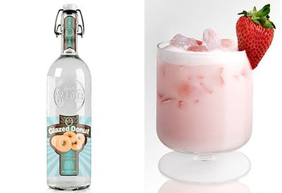 Doughnut vodka
