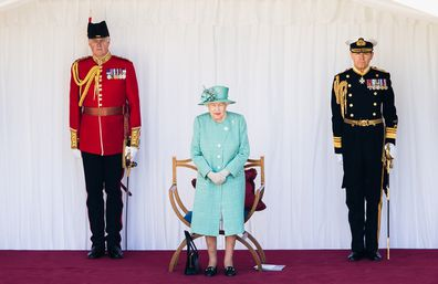 Trooping the Colour was scaled back due to the coronavirus pandemic in 2020.