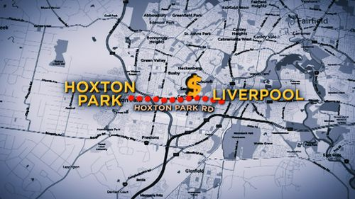 The third most expensive upgrade will be Hoxton Park Road from West Hoxton to Liverpool at a cost of $18 million. (9NEWS)