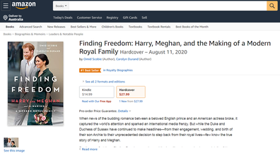 The book is listed on Amazon with a release date of August 11.