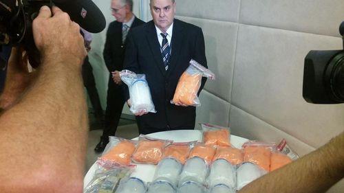 Perth police nab 21kg of meth in raid