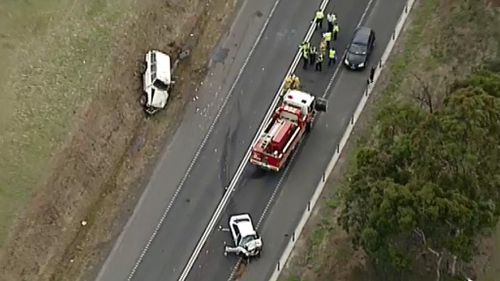Two people lucky to be alive after serious crash near Melbourne Airport