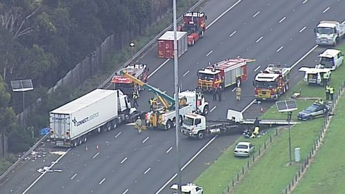 A major investigation is underway after four police officers were killed in a crash on the Eastern Freeway in Melbourne. The scene remains closed on Thursday, April 23.