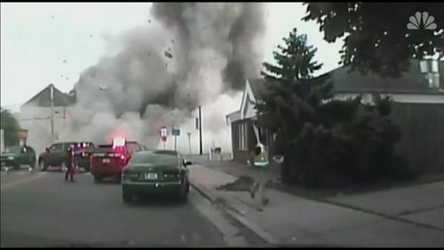 The blast in Wisconsin on July 10 killed a firefighter.