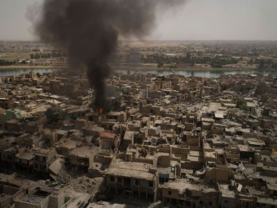 ISIS overran large areas north and west of Baghdad in 2014, but Iraqi forces backed by US-led coalition air strikes have since regained much of the territory they lost. (AFP)