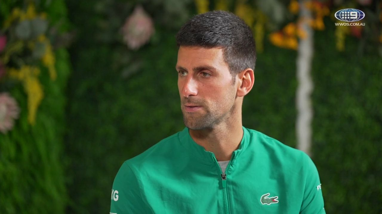 Tennis journalist Ben Rothenberg highlights Novak Djokovic sponsor gaffe ahead of Australian Open final