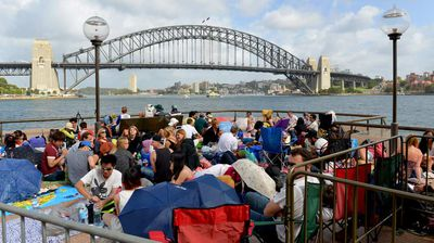The iconic harbour is the prime spot to watch the New Year's Eve celebrations. (Getty)