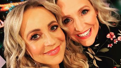 Carrie Bickmore and Fifi Box