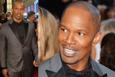 <i>Django Unchained</i>'s Jamie Foxx knows how to work the carpet.