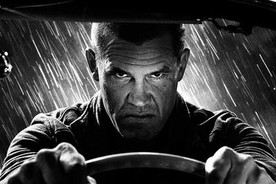 Let's not forget the film-noir intense driving sequences...