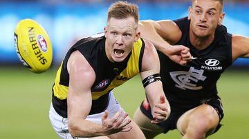Riewoldt rips Blues defender for 'dangerous' off-ball hit
