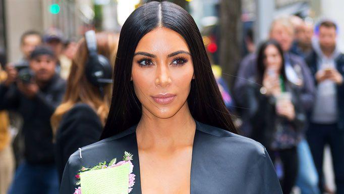 Kim Kardashian New York 2017.