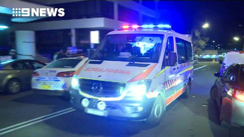 The man's fingertip was bitten off about 9.30pm. (9NEWS)