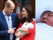 Duke and Duchess introduce their new prince to the world
