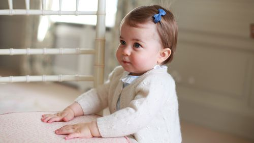 Duke and Duchess of Cambridge share new photos of Princess Charlotte
