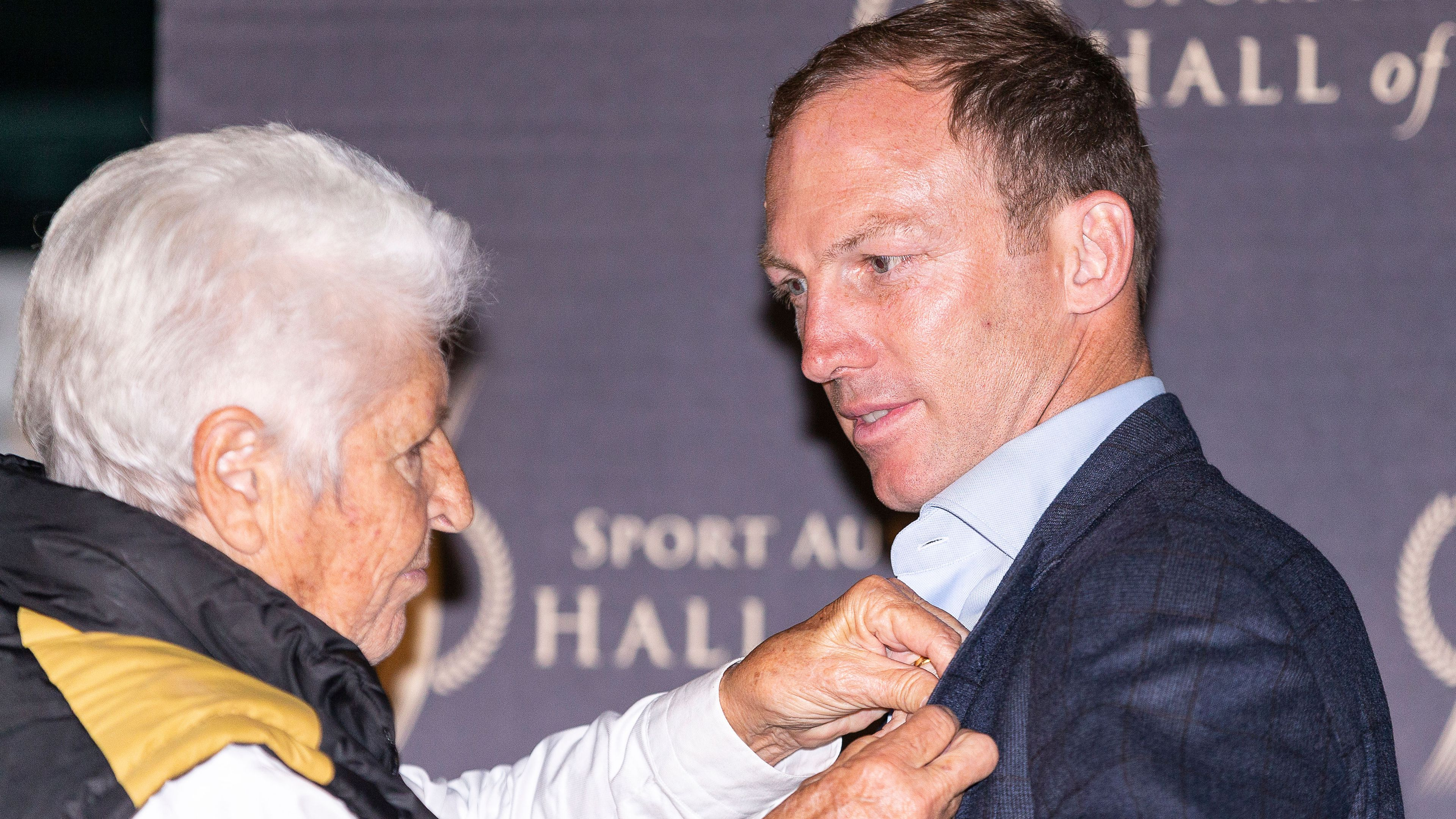 Rugby league great Darren Lockyer inducted into Sports Australia Hall of Fame