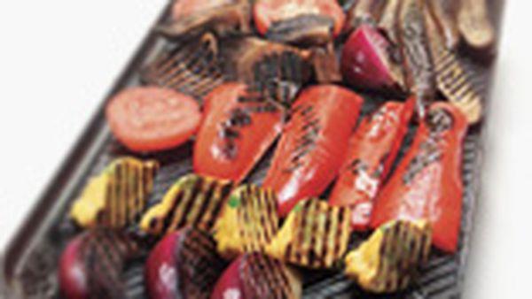 BBQ vegies