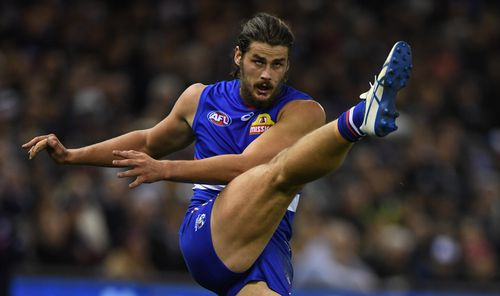 The 22-year-old is a ruckman for the Western Bulldogs. Picture: AAP