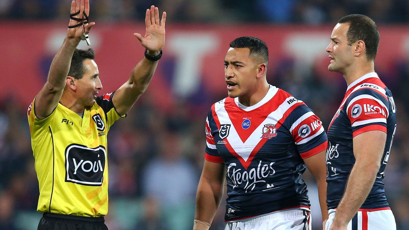 NRL ref has used same whistle for 27 years