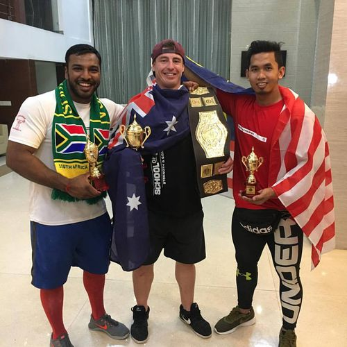 """In 2017, Brad Soper was labelled """"Asia's strongest man""""."""