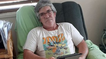 Garry Moratti is one of hundreds of Australian stonemasons who have diagnosed with silicosis.