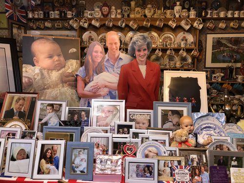 Mrs Tyler has met both the Queen and Princess Diana.