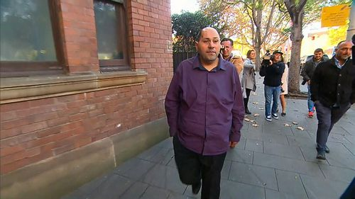 Dib Hanna was today sentenced to three years jail. Picture: 9NEWS